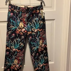 "NWT~  J. Crew Collection~  ""Under the Sea"" Pants"